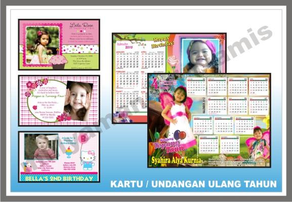 Desain Undangan Kartu Ulang Tahun Pictures